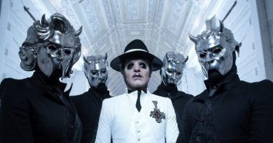 Ghost coming to Ames in November